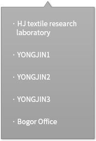 HJ textile research laboratory, YONGJIN1, YONGJIN2, YONGJIN3, Bogor Office
